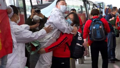 Photo of 'The unsealing of Wuhan' brings cheers and new surveillance as city reopens travel connections